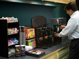 Breakroom Solutions for Coffee and accessories