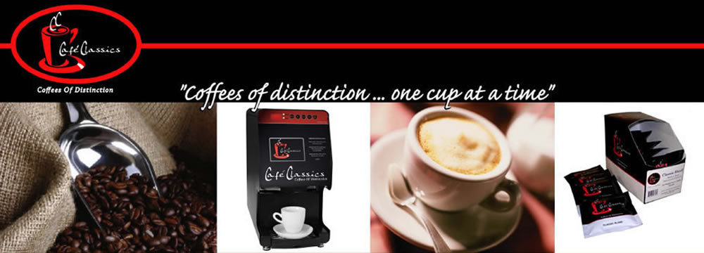 Cafe Classics, coffees of distinction